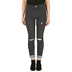 Mr Freedom - Black faye super skinny high waist jean