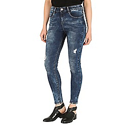 Mr Freedom - Blue faye super skinny high waist jean