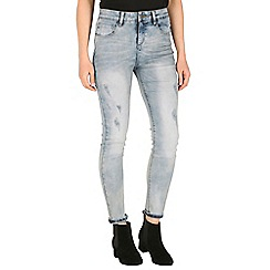 Mr Freedom - Light blue faye super skinny high waist jean