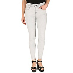 Mr Freedom - Light grey faye super skinny high waist jean
