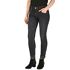 Mr Freedom - Navy britt skinny mid rise jeans