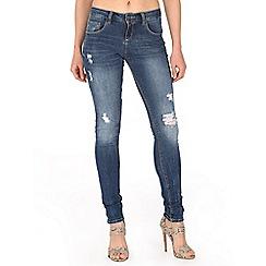 Mr Freedom - Blue britt skinny mid rise jeans