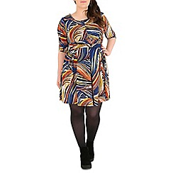 Samya - Multicoloured printed dress
