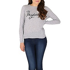 Poppy Lux - Grey daydreamer sweater