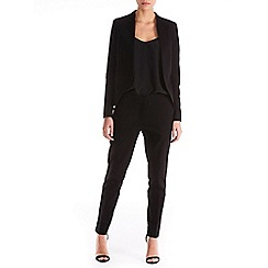 Sugarhill Boutique - Black cassie jacquard jacket