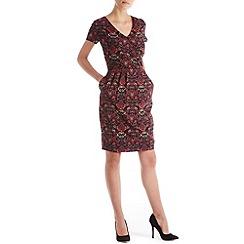 Sugarhill Boutique - Multicoloured bailey wallpaper dress