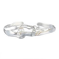 Banyan - Silver cuff bracelet