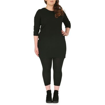 Samya Black pristine shift dress