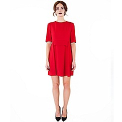 Wolf & Whistle - Red origami dress