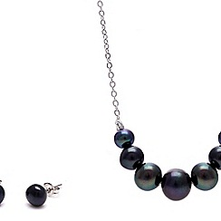 Kyoto Pearl - Black pearl set
