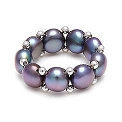Kyoto Pearl - Black ring