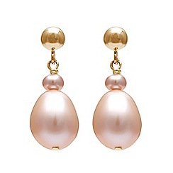 Kyoto Pearl - Pink pearls earrings