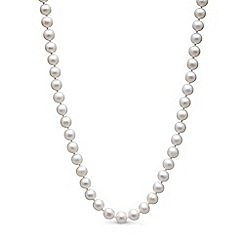 Kyoto Pearl - White pearls necklace