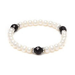Kyoto Pearl - White pearls bracelet