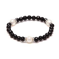 Kyoto Pearl - Black pearls bracelet