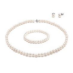 Kyoto Pearl - White pearls set
