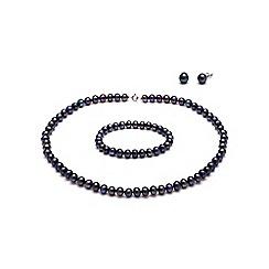 Kyoto Pearl - Black pearls set