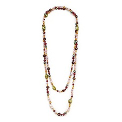 Kyoto Pearl - Multicoloured pearls necklace
