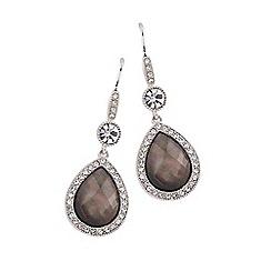 Buckley London - Silver pearl drop earrings