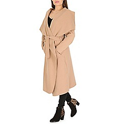 Amaya - Camel belted soft trench coat