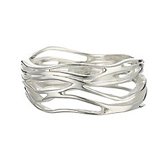 Banyan - Silver high polish ring