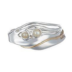 Banyan - Silver pearl ring