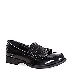 Alice & You - Black tassle patent loafer