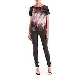 Sugarhill Boutique - Multicoloured brittany woodland tee top