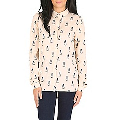 Sugarhill Boutique - Cream jemima owl shirt