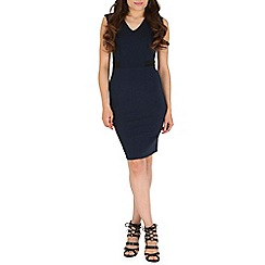 Sugarhill Boutique - Navy felicity bodycon dress