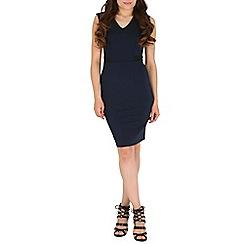 Sugarhill Boutique - Navy felicity bodycon dress