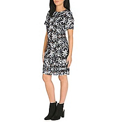 Sugarhill Boutique - Multicoloured blurred spot tunic dress