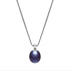 Kyoto Pearl - Black pearl pendant