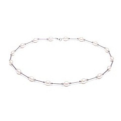 Kyoto Pearl - White pearl necklace
