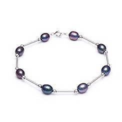 Kyoto Pearl - Black pearl bracelet