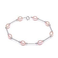 Kyoto Pearl - Pink freshwater pearls bracelet