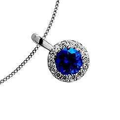 Diamonfire - Blue royal blue pendant