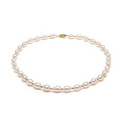 Kyoto Pearl - White freshwater pearl necklace
