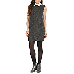 Cutie - Grey preppy tweed like dress