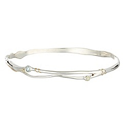 Banyan - Silver fluid bangle