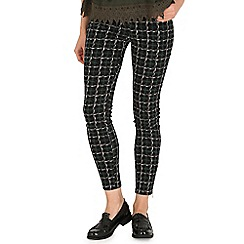 AS by Anna Smith - Green fitted tartan pants