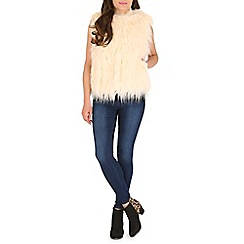 AS by Anna Smith - Cream faux fur gilet