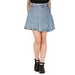 Jailbird - Navy bell skirt