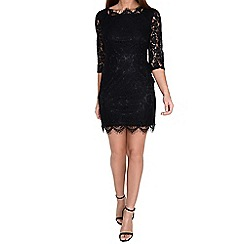 Alice & You - Black scallop lace dress