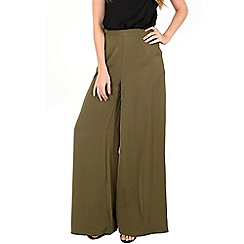 Alice & You - Khaki wideleg trousers