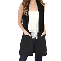 Alice & You - Black sleeveless jacket