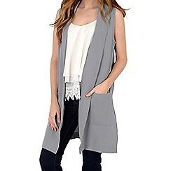 Alice & You - Grey sleeveless jacket