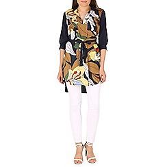 Cutie - Navy bold print tunic