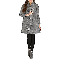 Cutie - Grey woolen coat