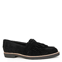 Alice & You - Black suede loafer